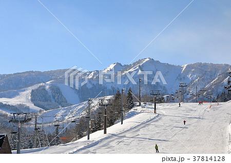 スキー場 37814128