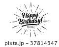 タイポグラフィ タイポグラフィー 活版のイラスト 37814347