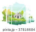 小型 狭い 住宅のイラスト 37816684
