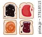 パン 食べ物 食のイラスト 37818515