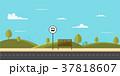 バス 都市 ストップのイラスト 37818607