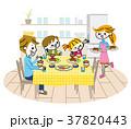 家族 食卓 37820443