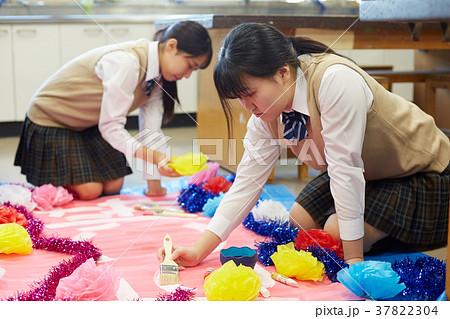 中学生 文化祭 図工 高校生 37822304
