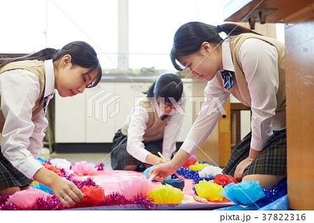 中学生 文化祭 図工 高校生 37822316