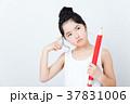 女の子(勉強イメージ) 37831006