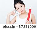 女の子(勉強イメージ) 37831009