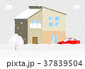 住宅 雪 37839504