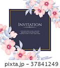 フローラル 招待 勧誘のイラスト 37841249