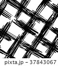 Ink abstract cross lines seamless pattern 37843067