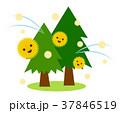 花粉 杉 杉花粉のイラスト 37846519