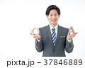 ビジネスマン 男性 質問の写真 37846889