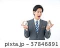 ビジネスマン 男性 質問の写真 37846891