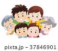 仲良し三世代家族 37846901