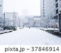 大雪 横浜みなとみらいの風景 37846914
