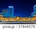東京駅 駅 夜景の写真 37849570