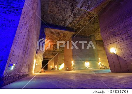 大谷資料館の地下採掘場 37851703
