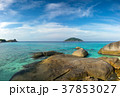 landscape with rocks on Similan islands 37853027