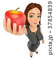 りんご アップル リンゴのイラスト 37854839