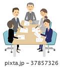 ビジネスウーマン ビジネスマン ビジネスのイラスト 37857326