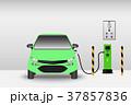 エレクトリック 車 自動車のイラスト 37857836