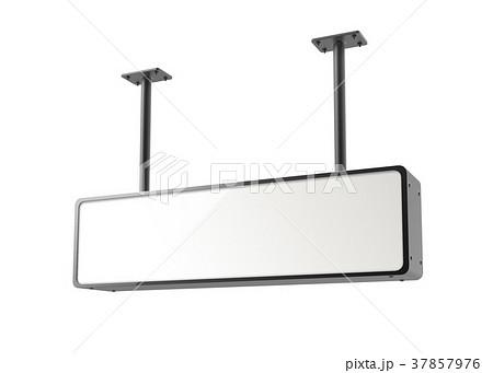 hanging lightbox templateのイラスト素材 37857976 pixta