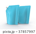 袋 洗剤 ライトブルーのイラスト 37857997