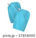 袋 洗剤 ライトブルーのイラスト 37858000