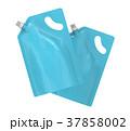 袋 洗剤 ライトブルーのイラスト 37858002