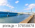 街景 那珂川遊歩道から見る博多港方面 福岡市博多区 37858878
