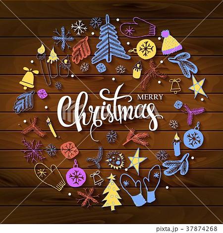 Christmas greeting card 37874268