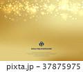 抽象的 金 黄金のイラスト 37875975
