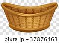 バスケット 枝編み細工 蜆壹>のイラスト 37876463