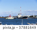 三池港 貨物船 港の写真 37881649