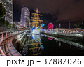 日本丸 船 夜景の写真 37882026