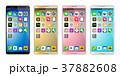 スマートフォン スマホ アイコンのイラスト 37882608