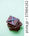 チョコレート バレンタインデー チョコの写真 37884162