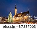 Christmas Market On Town Hall Square In Tallinn 37887003