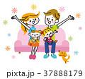 家族 ソファ 37888179