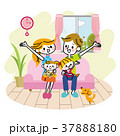 家族 ソファ リビング 37888180