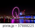 ロンドンアイ 夜景 イギリス 37888225
