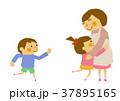 仲良し 母親 子供のイラスト 37895165