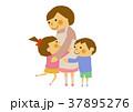お母さん 母子 親子のイラスト 37895276