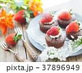 ケーキ チョコレートケーキ カップケーキの写真 37896949