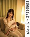 夜 親子 悩むの写真 37896998
