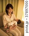 夜 親子 悩むの写真 37897000