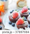 かわいいミニチョコレートケーキ 37897084