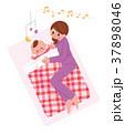 赤ちゃんの寝かしつけ 37898046