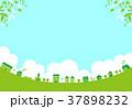 街 住宅 建物のイラスト 37898232