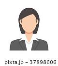 女性 スーツ姿 会社員のイラスト 37898606