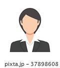 女性 スーツ姿 会社員のイラスト 37898608